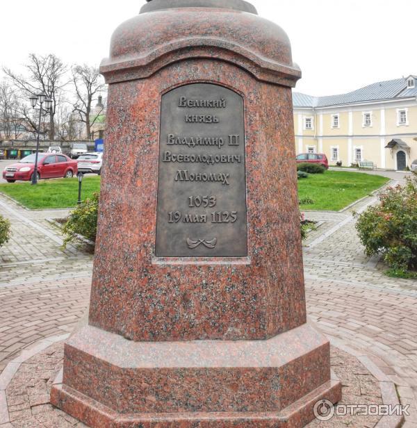 Памятник Владимиру Мономаху